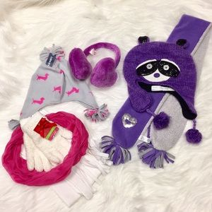 Bundle of kids winter accessories